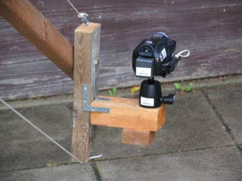 Kamerakran Kameraplatte
